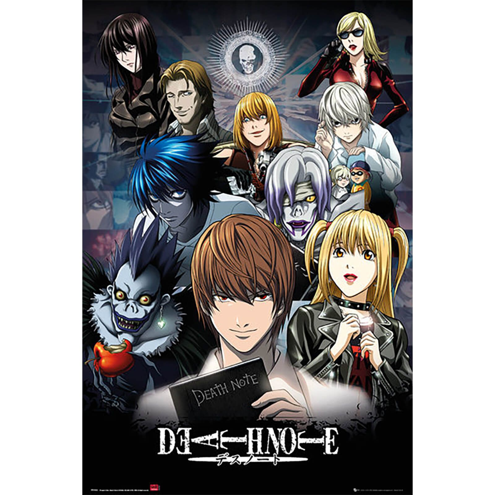 Deathnote collage 24 x 36 inches maxi poster anime