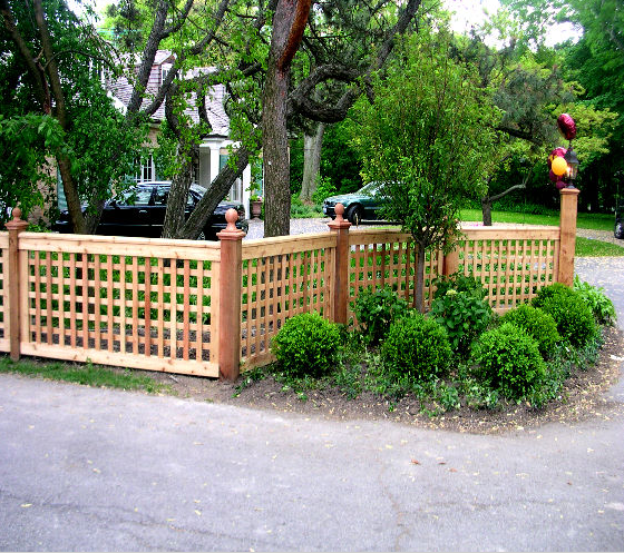 Porch Landscaping Ideas For Your Front Yard And More: Fencing Ideas! Unique Idea For Updating Your Front Yard