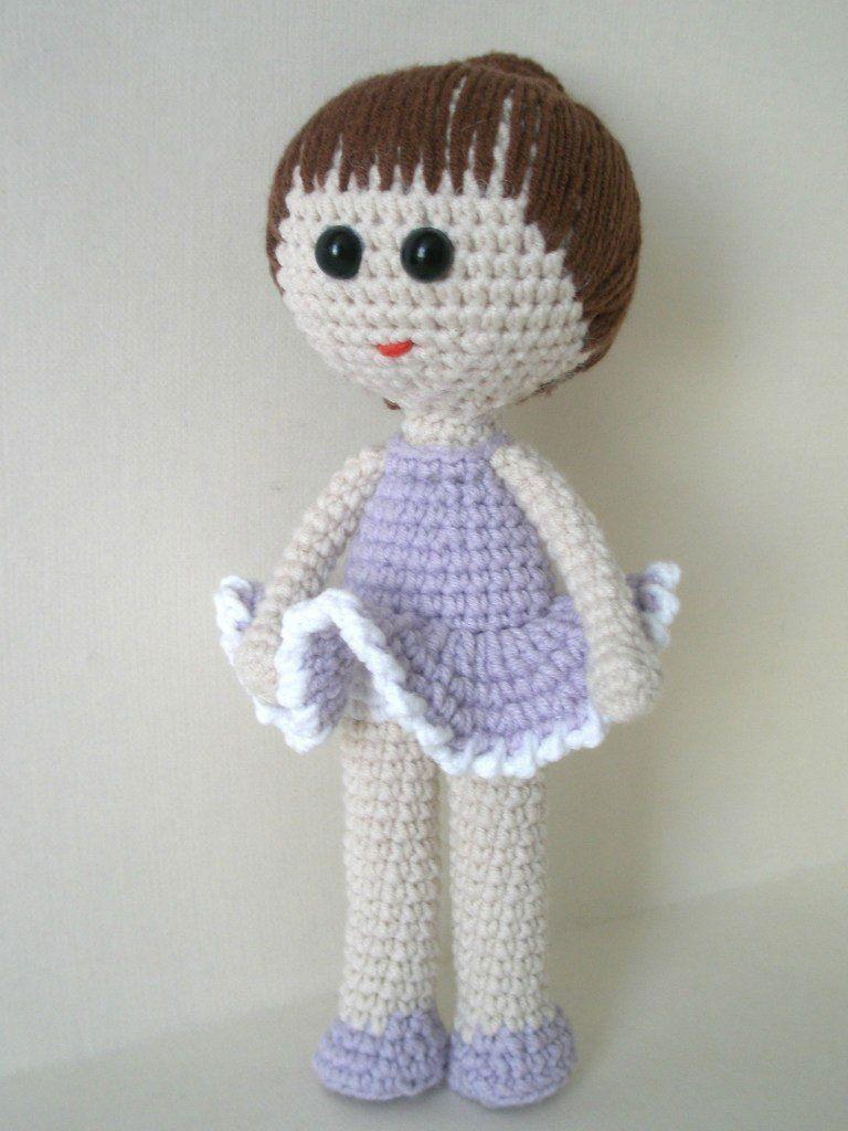 Muñeca de la bailarina modelo amigurumi gratis | amigurumi ...