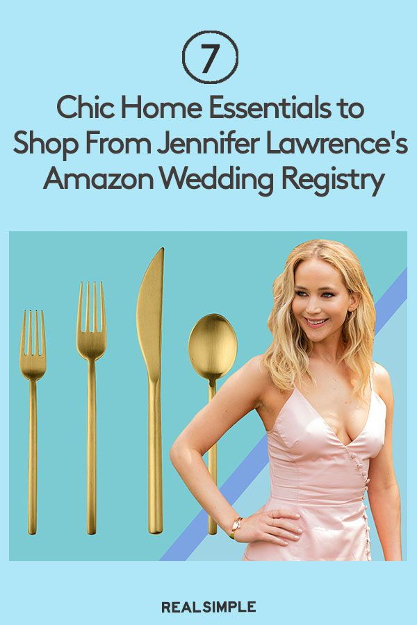 Amazon Kitchen Essentials: 7 Chic Home Essentials To Shop From Jennifer Lawrence's