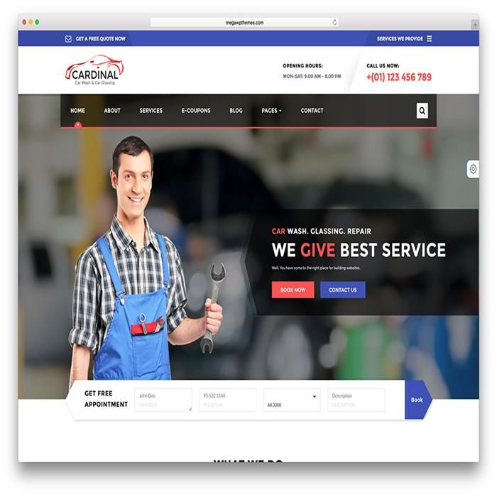Top 15+ Responsive Car Service Auto Repair Shop WordPress Themes In ...