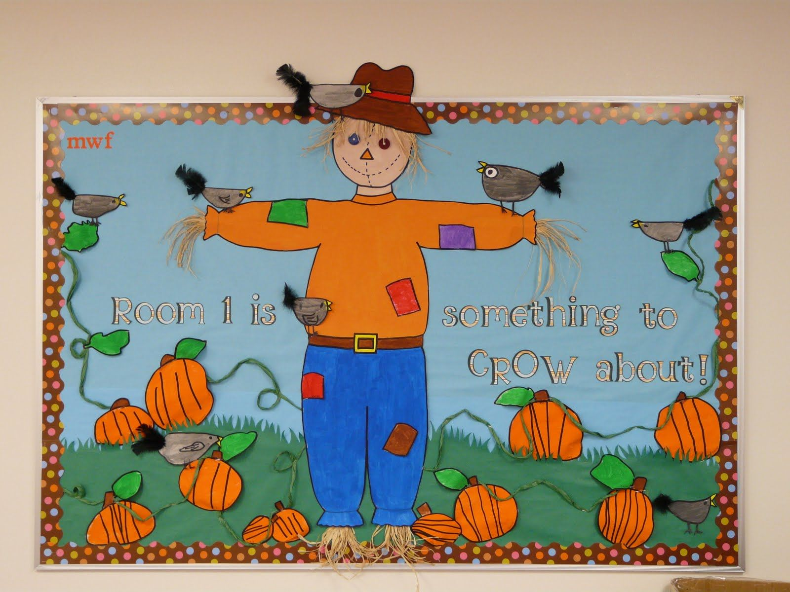 Christian Fall Bulletin Board Ideas