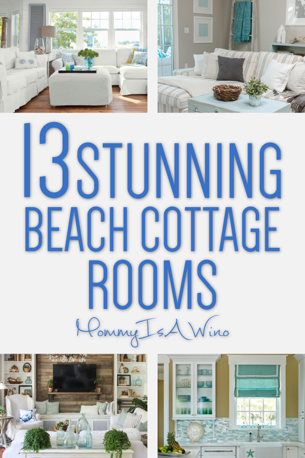 Beach Cottage Decor For Every Room In Your Home Mommy Thrives Beach Cottage Decor Beach Cottages Country Cottage Decor
