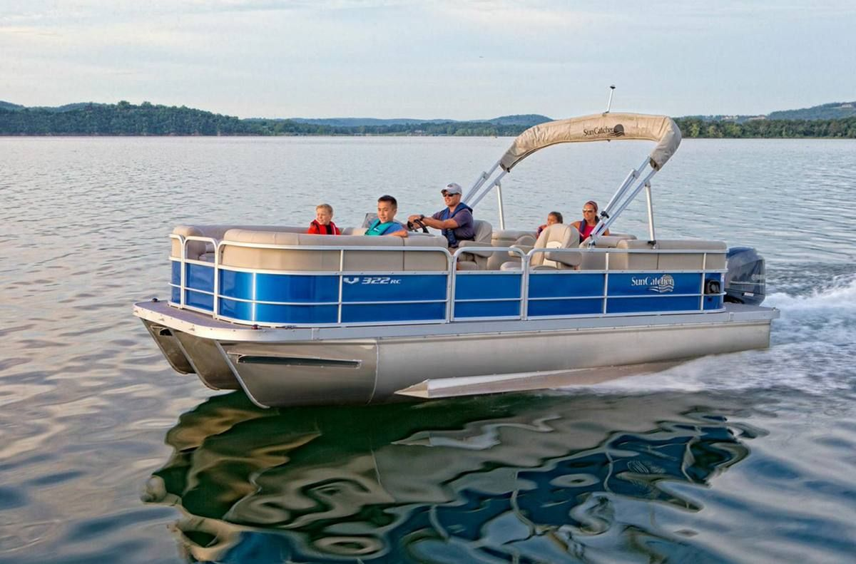 Pin on fishing pontoon boats