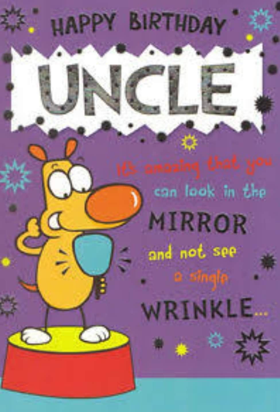 Happy Birthday Uncle Wishes Cards Cartoon Pics