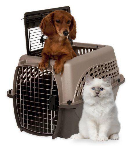 Petmate 2 Door Pet Dog Cat Carrier Kennel 24 Inch Portable Cage Crate Training Petmate Pet Kennels Dog Crate Cat Crate