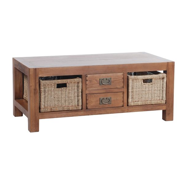 Image For Coffee Table With Storage Baskets