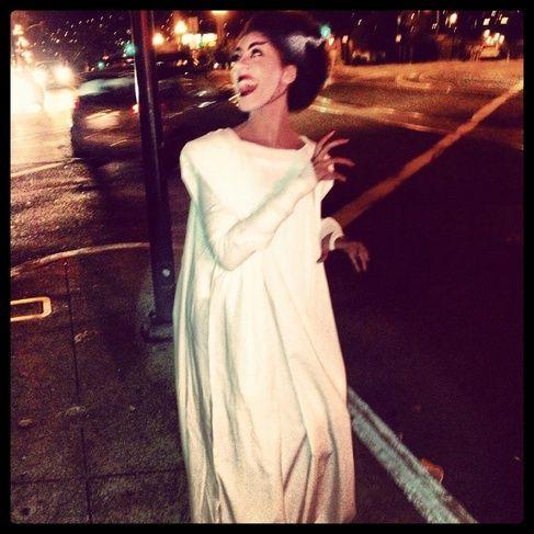 Bride of Frankenstein Costume Dress