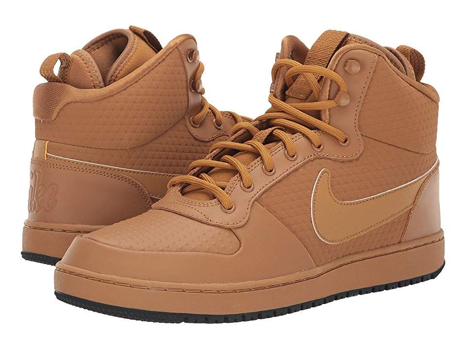 Details about Mens Nike Ebernon Winter Mid Top High Sneakers Basketball Shoes Retro Gum NEW