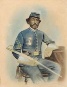 January 1, 1864: Parker Robbins of Bertie County, a free person of color of mixed African and Native American descent, enlisted in the 2nd United State Colored Cavalry Regiment at Fort Monroe, Va.