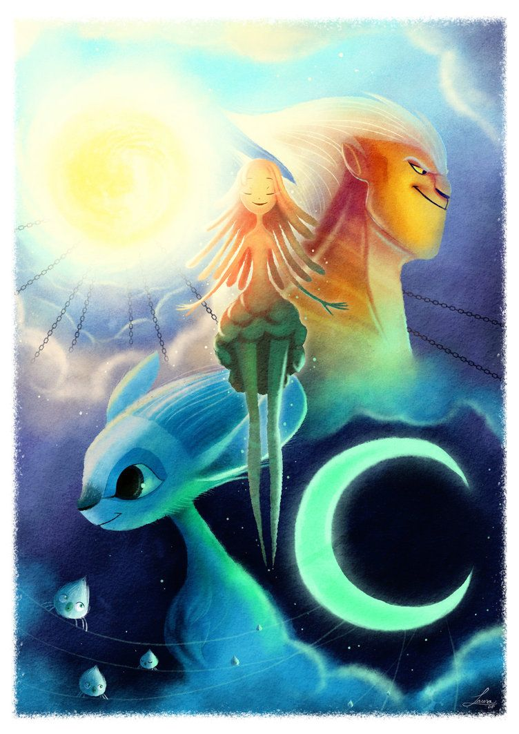 Mune The Guardian Of The Moon By Lauradepe93 Guardian Of The Moon Anime Happy Tree Friends