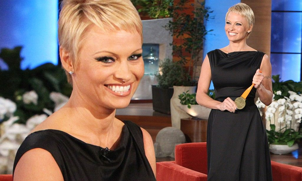 Pamela Anderson Explains Why She Cut Her Hair Hair Nails Make