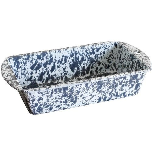 Wasserflecken Auf Marmor Crow Canyon D32gym Loaf Pan, Grey Marble | Overstock.com ...