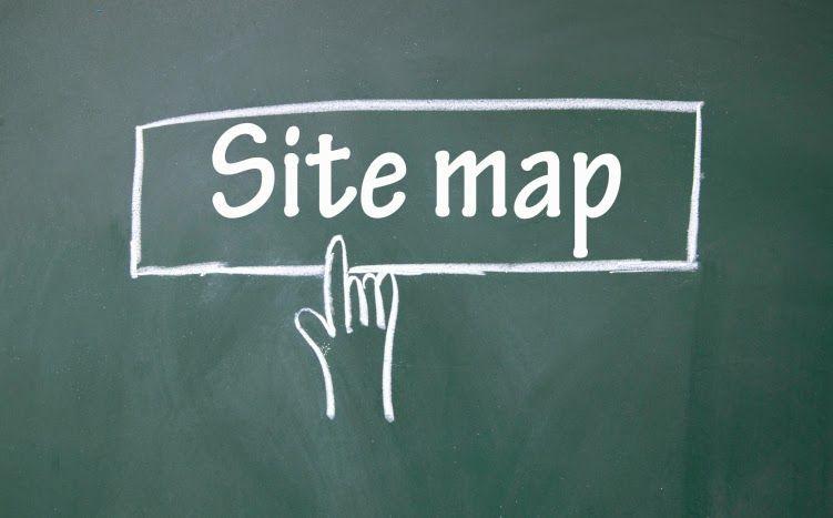 Tabla de contenido (Sitemap) con pestañas