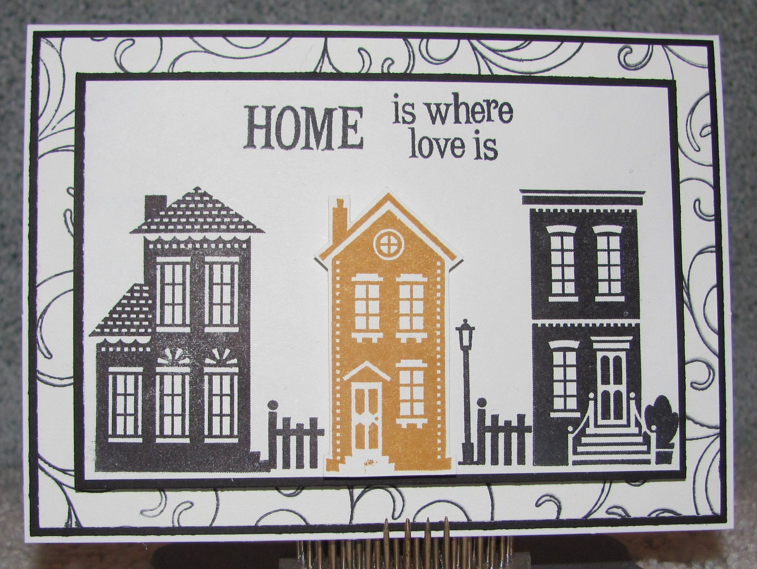 I just listed housewarming handmade greeting card home is where i just listed housewarming handmade greeting card home is where the heart is new home on kristyandbryce Image collections