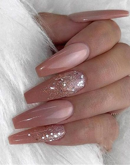 40 Inexpensive Glitter Nail Designs Ideas To Rock This Year Ombre Acrylic Nails Nail Art Hacks Coffin Nails Designs