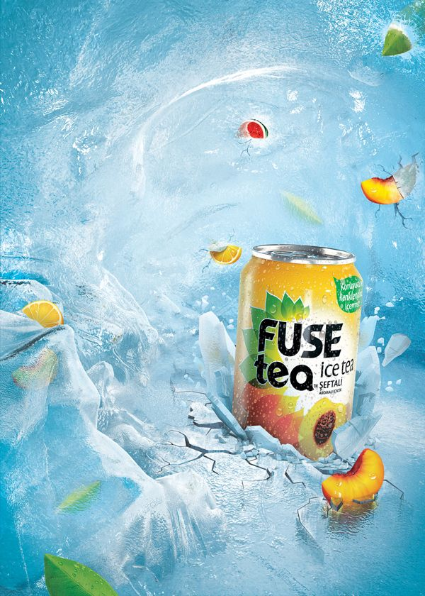Fuse Tea by Zooistanbul, via Behance | Print advertising ...