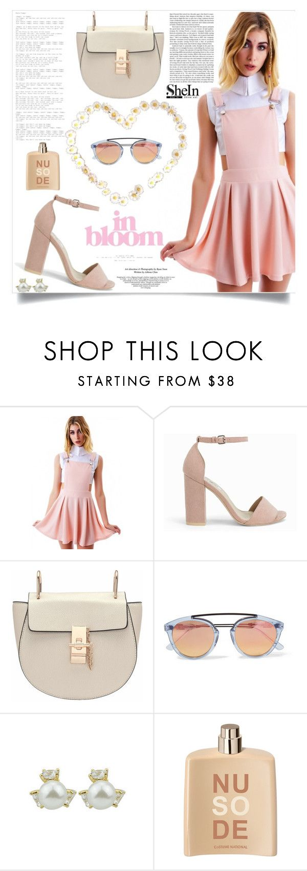 """Spring Feverish"" by violet-peach ❤ liked on Polyvore featuring Nly Shoes, Westward Leaning and COSTUME NATIONAL"