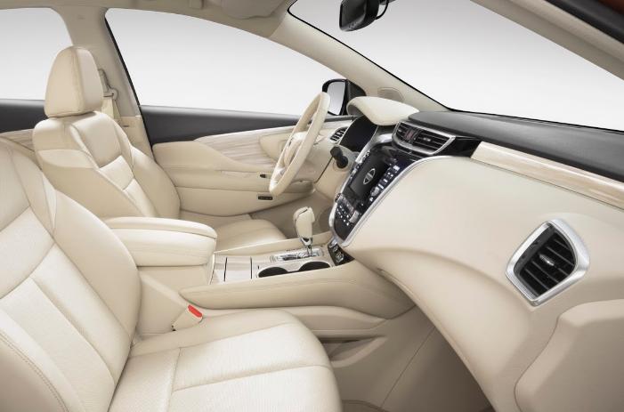 2019 Nissan Murano Sl Interior Price And Colors Nissan Murano