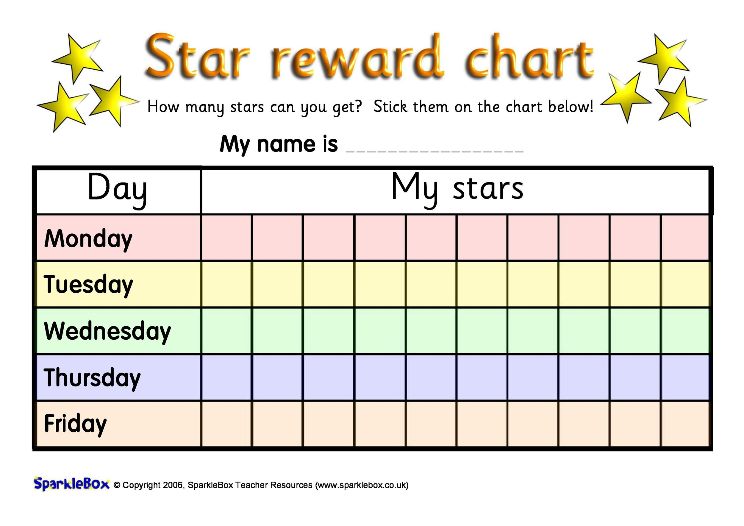 44 Printable Reward Charts For Kids Excel Word In 2020 Printable Reward Charts Reward Chart Incentive Chart [ 1767 x 2500 Pixel ]