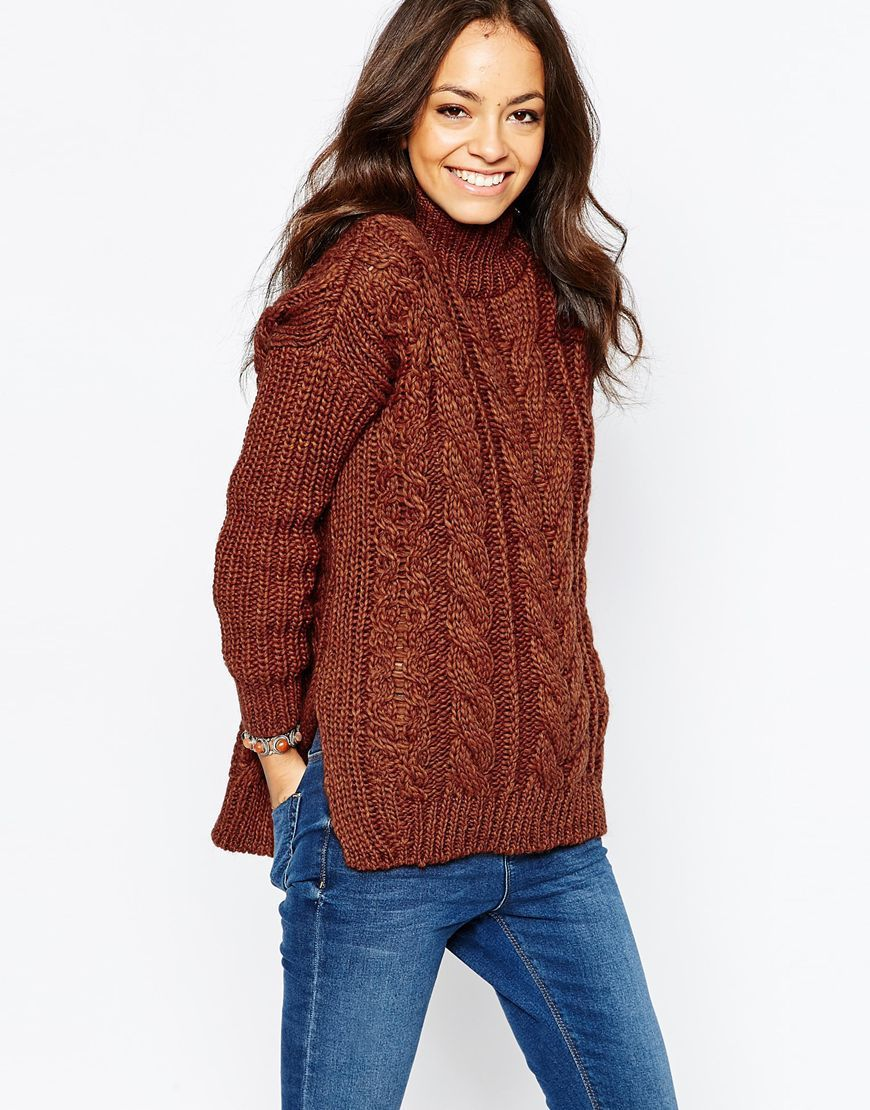 New look cable jumper jumpers pinterest cable jumper and