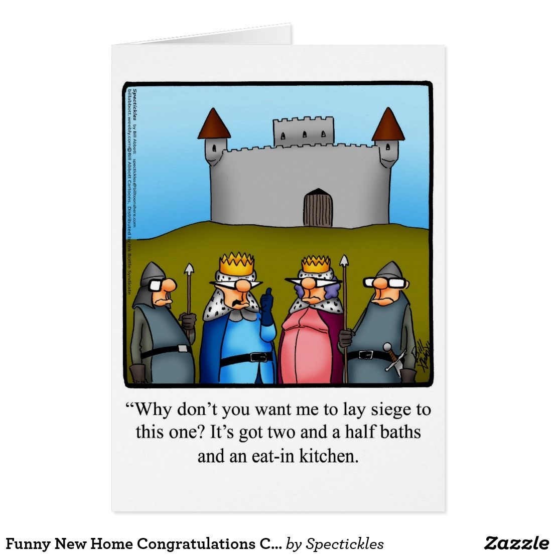 Funny new home congratulations card spectickles funny greeting new home cards new home greeting cards new home greetings kristyandbryce Image collections