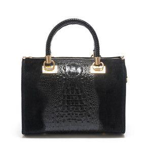 Čierna kožená kabelka Isabella Rhea no. 822  5ed38ae8e3a