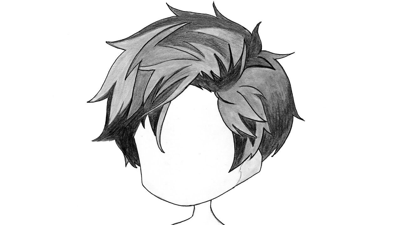 How To Draw Chibi Hair Boy Step By Step Real Time Drawing Tutorial In 2020 Chibi Drawings Chibi Hair Anime Boy Hair