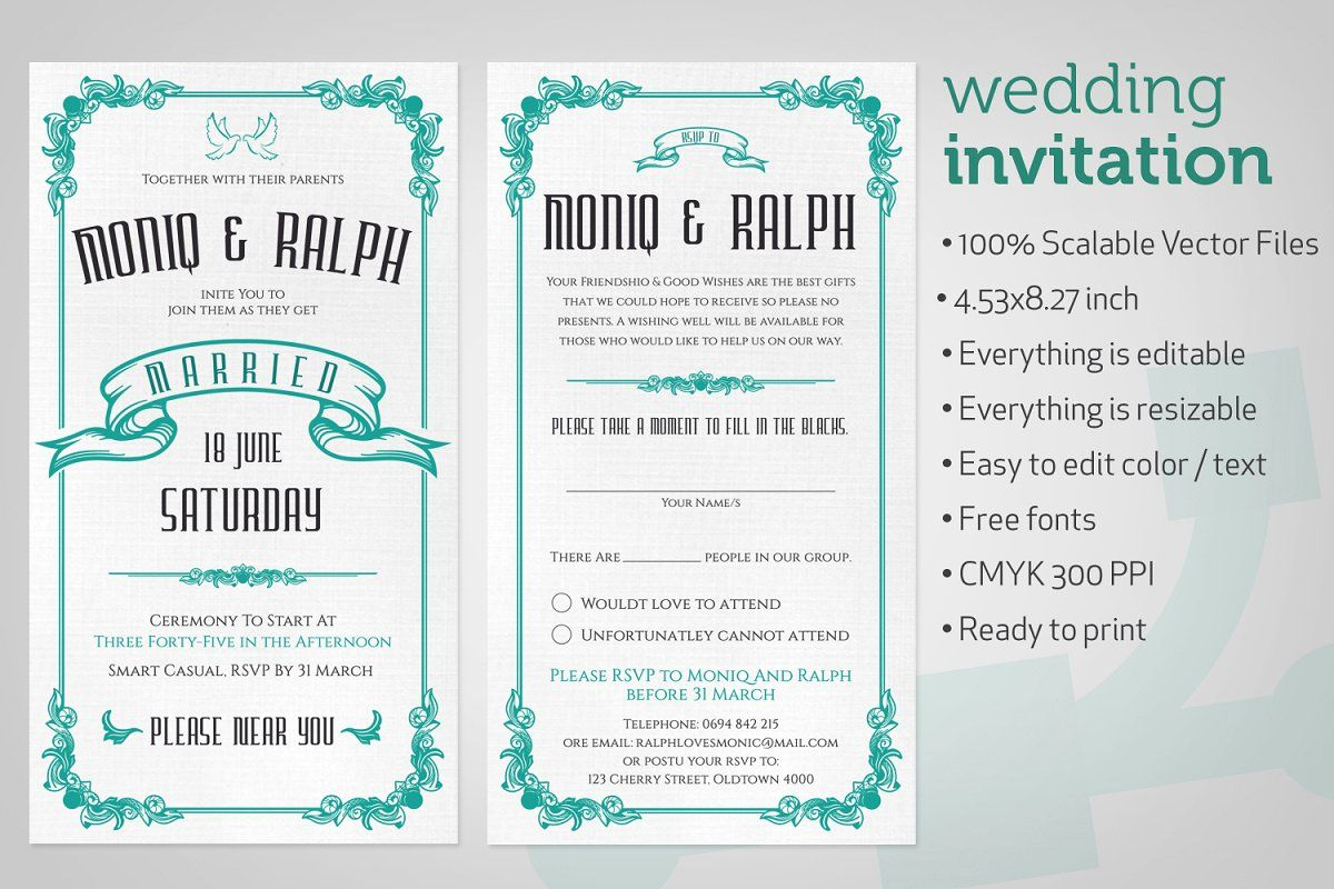 Photo of Wedding Invitation Classic , #Aff, #mm#wide#Size#Wedding #affiliate
