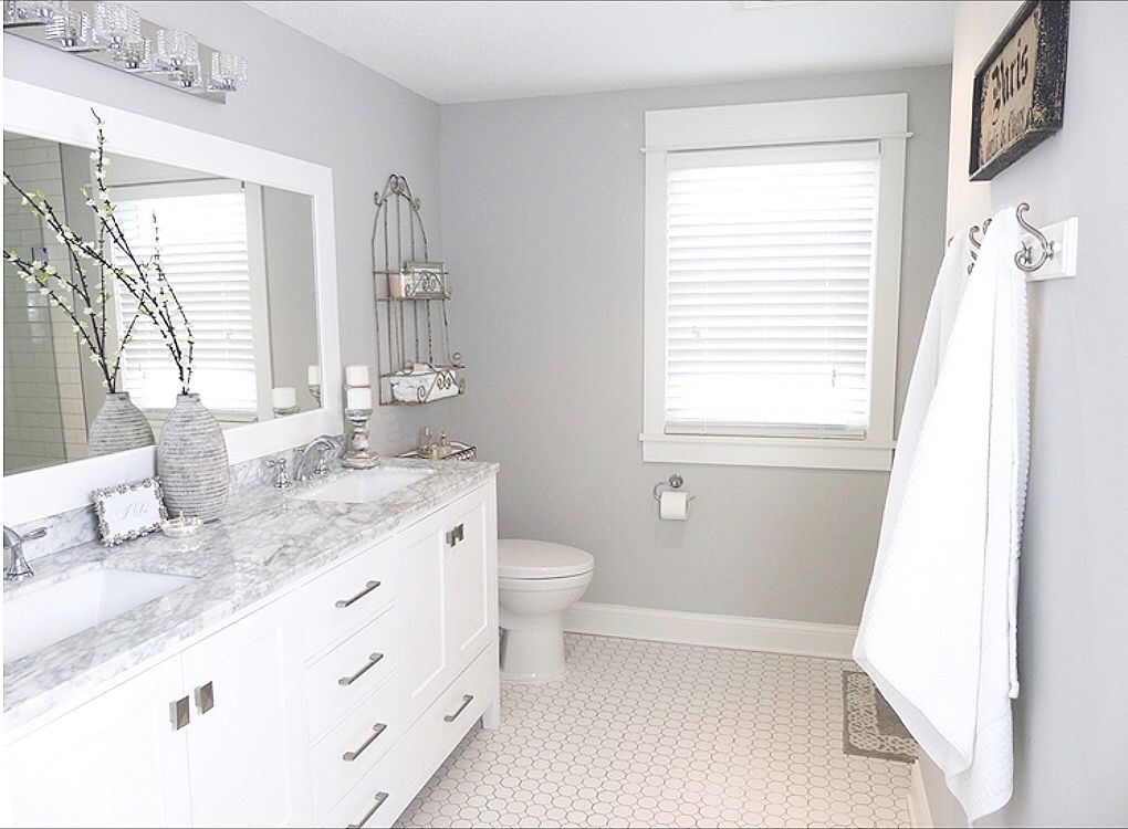 master bathroom remodel 1950's colonial paint color is on