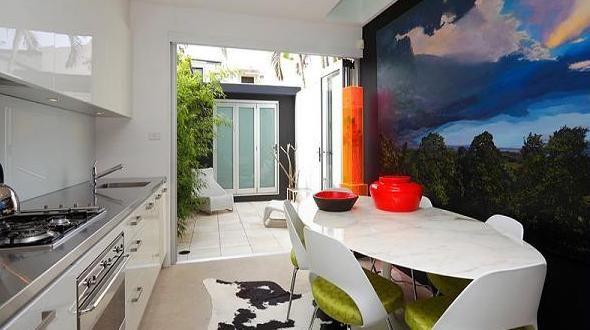 Küche Wandfarbe - 40 Ideen für Farbgestaltung der Küche - wandgestaltung kche farbe