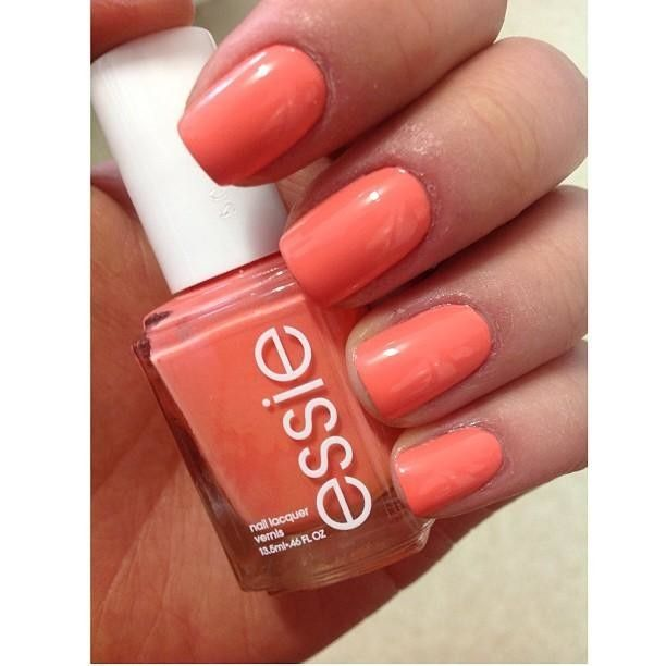 Essie Nail Polish Coral Colors - To Bend Light