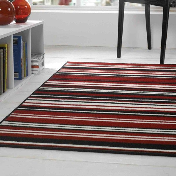 Element Canterbury Rugs In Red