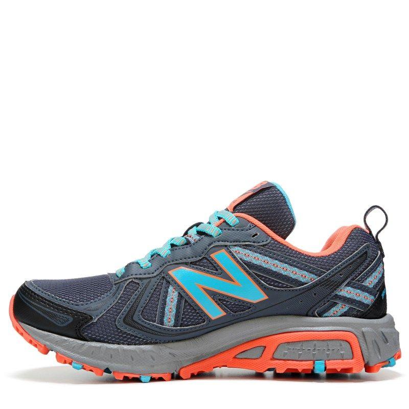 3d630273d8a3 New Balance Women s 410 V5 Wide Trail Running Shoes (Grey Blue ...