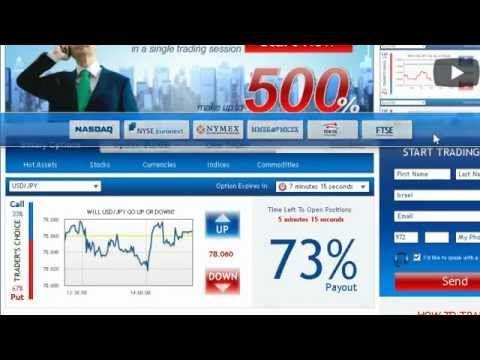 Plateforme trading option binaireire