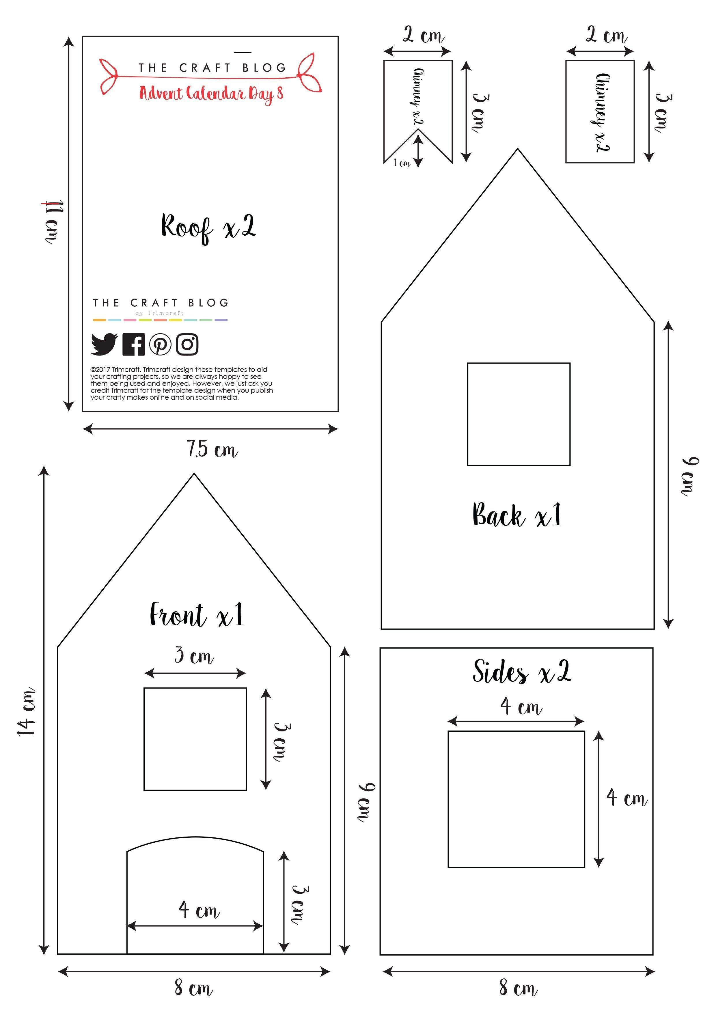 Pin By Joan Tuure On Christmas Art In 2020 Gingerbread House Gingerbread House Template Printable Gingerbread House Template