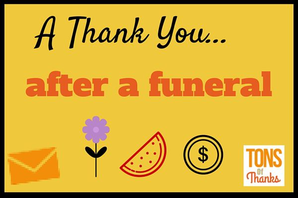 30 Funeral thank you note wording examples