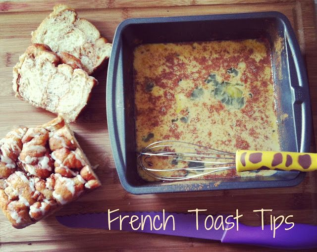 French Toast Tips