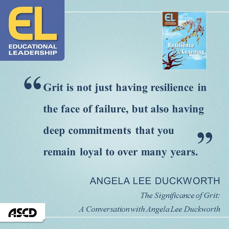 "Grit Motivational Quotes: Angela Lee Duckworth, ""The Significance Of Grit: A"