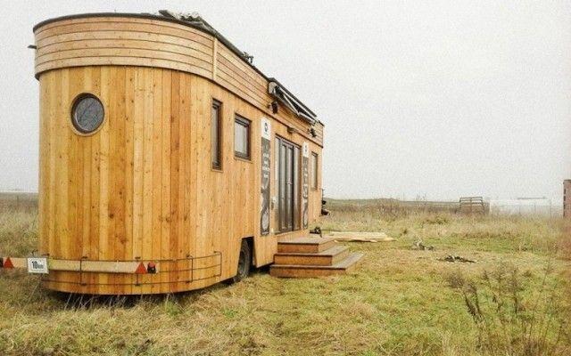 Habitat Ecologique C Wohnwagon Ecologie Pinterest Tiny Houses