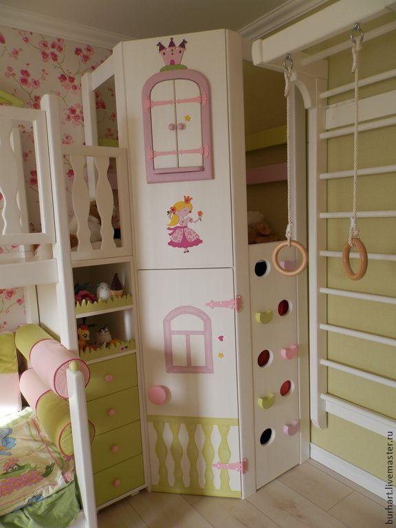 """Купить Детский городок """"Жила была принцесса Маша"""" - детская комната, для девочки, детский домик"""