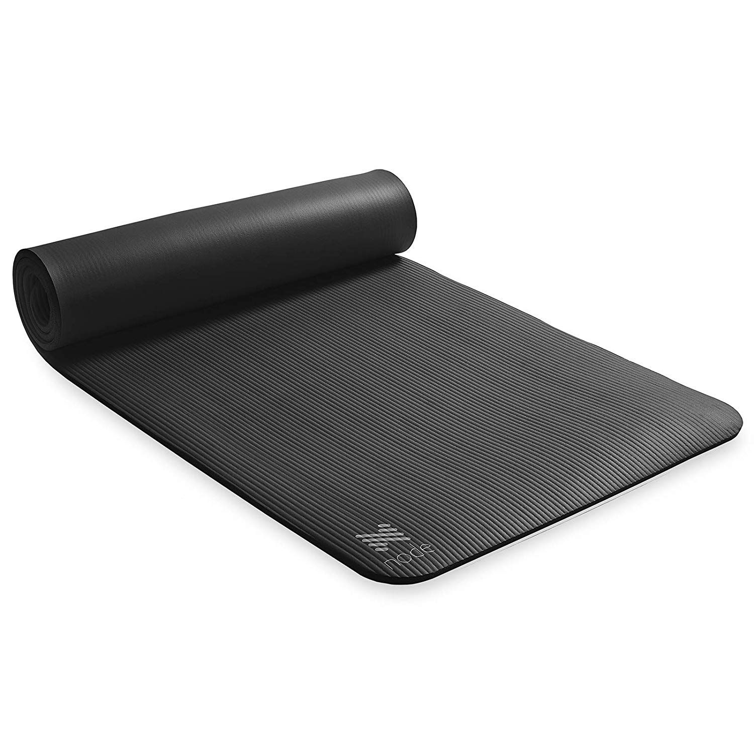 Node Fitness 72 X 24 Yoga Mat 1 2 Extra Thick With Carrying Strap Yogamat Yoga Mat Fitnessmat Fitness Exercisemat E Mat Exercises Yoga Fitness