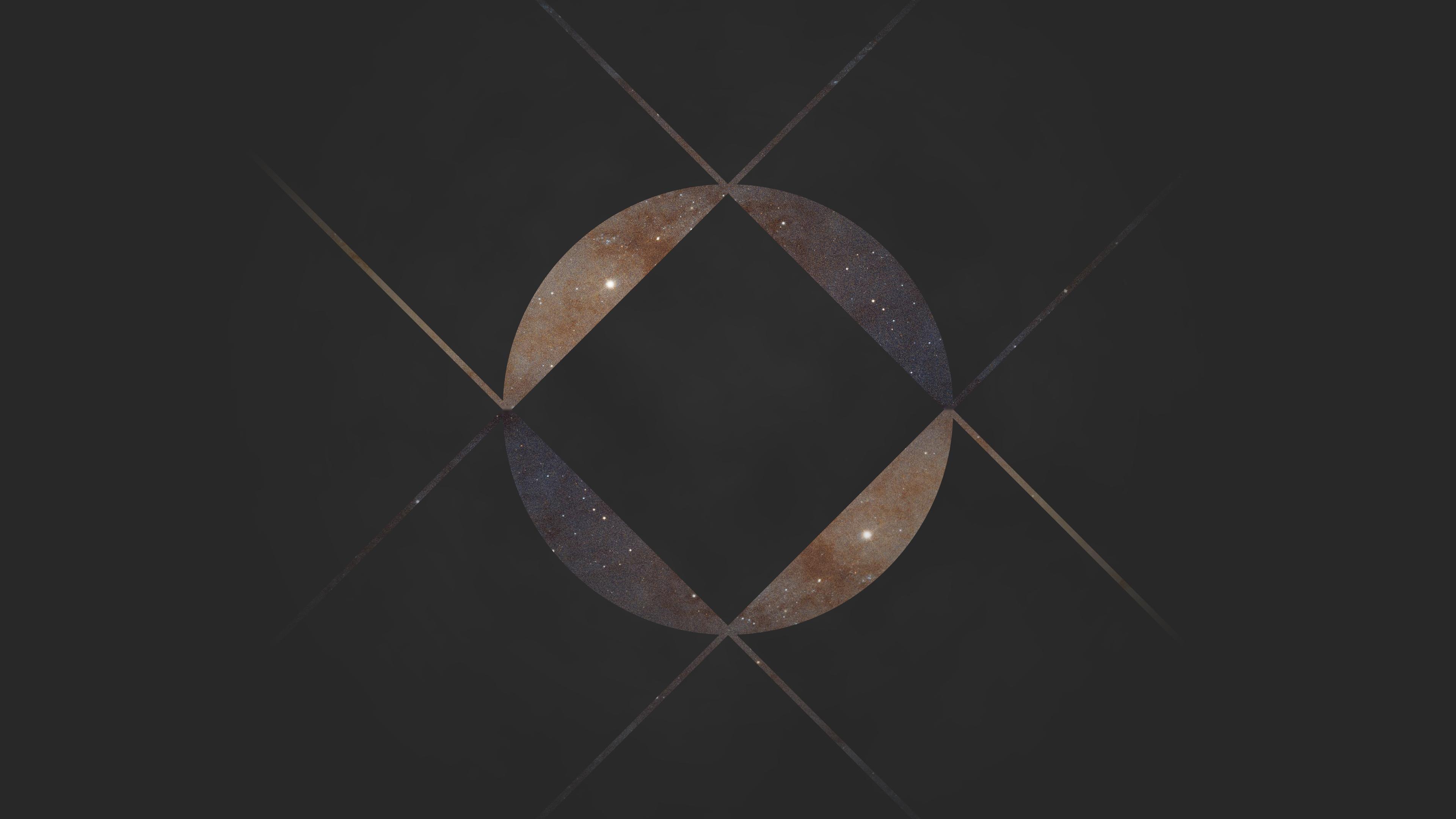 Square Galaxy [3840x2160]