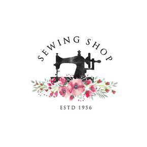 Premade Logo Design Tailoring Logo Tailor Logo By Printablepixel More Sewing Logo Design Sewing Logo Graphic Design Logo