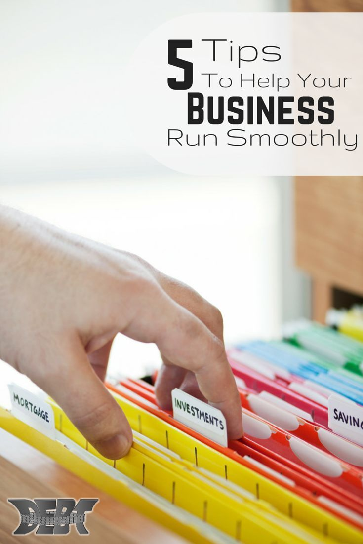 Business Ideas, #Business Tips 5 Tips to Help Your Business Run ...