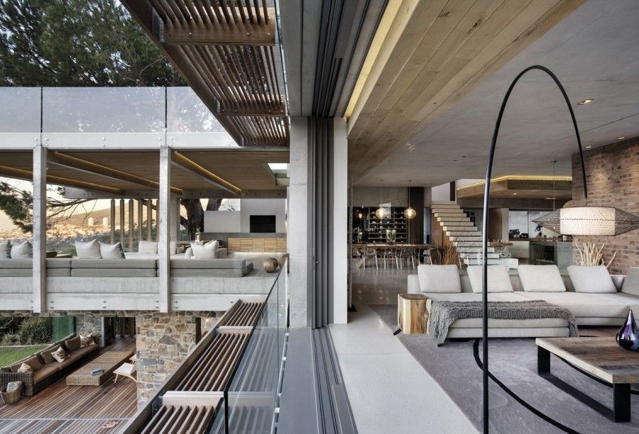 Dream House! Love how modern it is! Love the retractable walls!