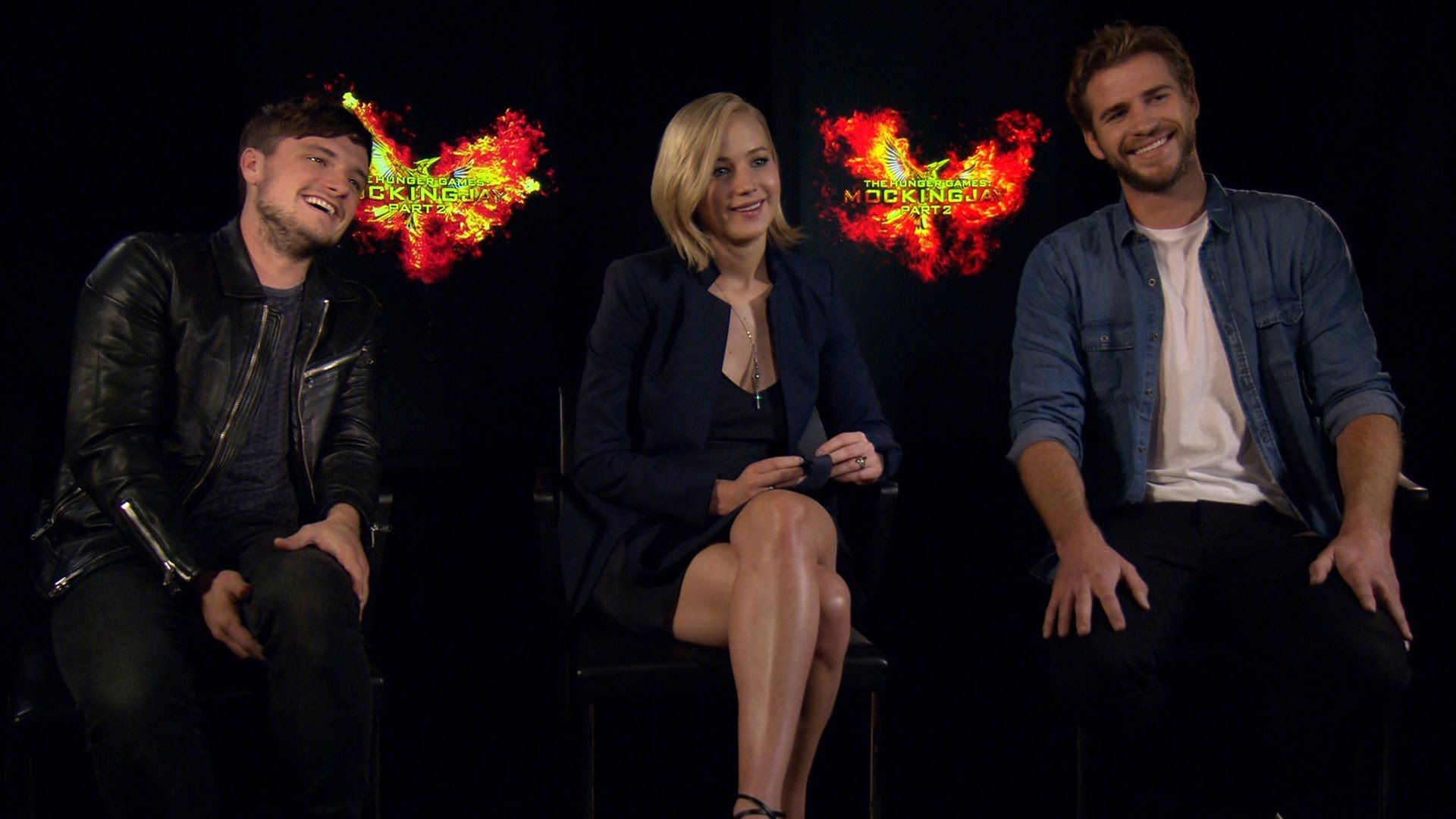 The Mockingjay Cast Fills Out Their Characters' Online