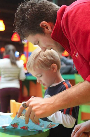 It's easy to be parent of the year at LEGOLAND Discovery Center Atlanta.