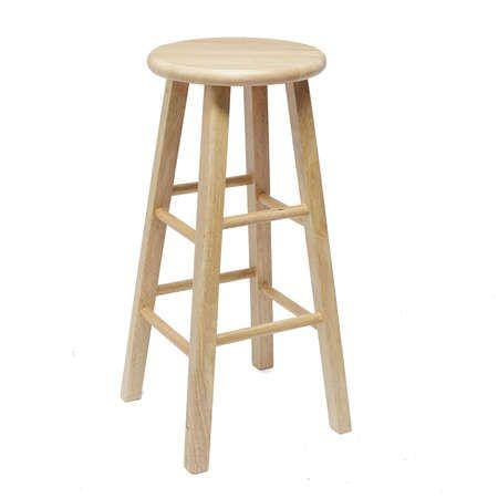 Prime Mainstays Fully Assembled 24 Natural Wood Barstool Beatyapartments Chair Design Images Beatyapartmentscom