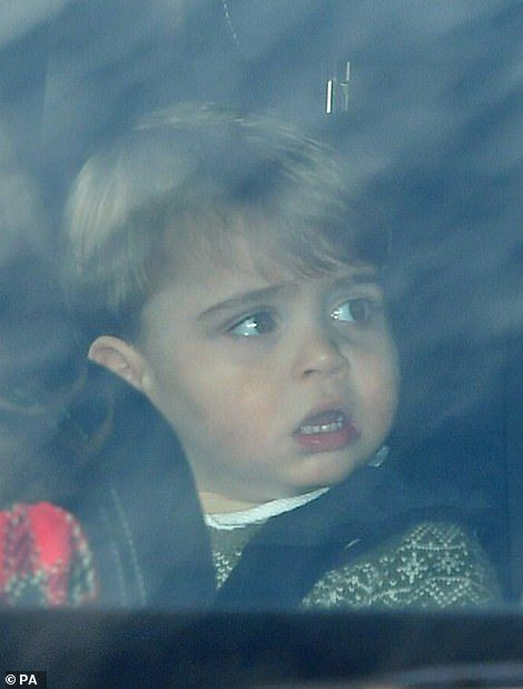 Prince William drives Kate and kids home after Queen's Christmas